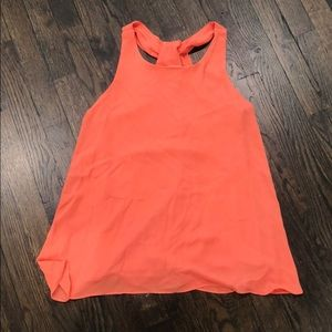 Lightweight Orange Tank/Blouse